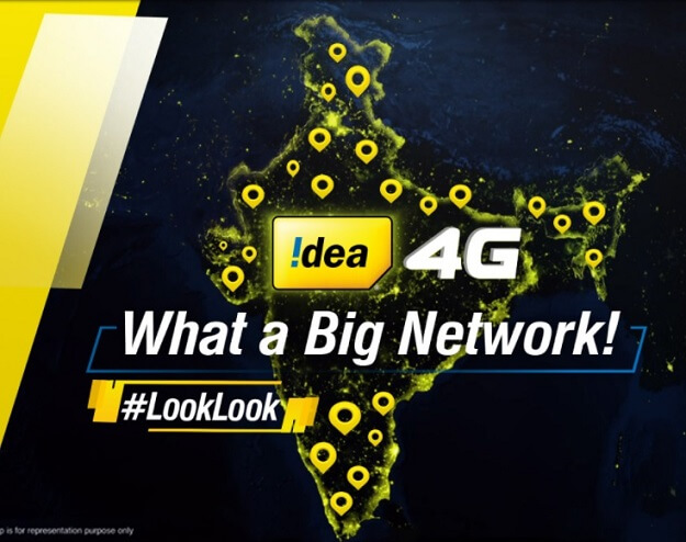 Idea 4G Get 10GB Free Internet Data (Maharashtra)