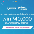 Trick to Win Rs 40000 in Amazon Prime Quiz Week