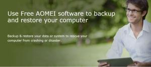 The Easiest PC Backup Software – AOMEI Backupper Standard 4.0.5 Review