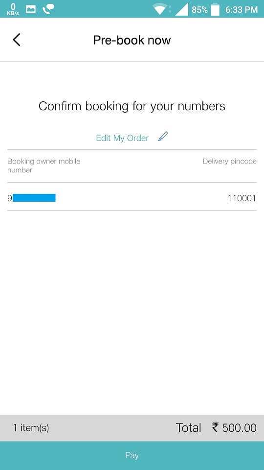 Confirm JioPhone booking