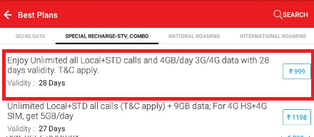 Plan Details Get 4GB Free Internet Data Daily Airtel 4G