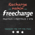 Get Full 100% Cashback on Freecharge Recharges & Bill Payments