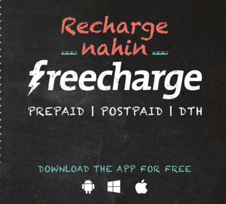Buy Rs 2 Voucher, and FreeCharge Get Rs 12 Cashback on Rs 10 Recharge