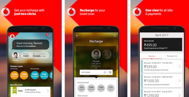 Vodafone Offer - 1GB 4G Free Internet Data Daily + Unlimited calls at Rs.398 for 84 Days