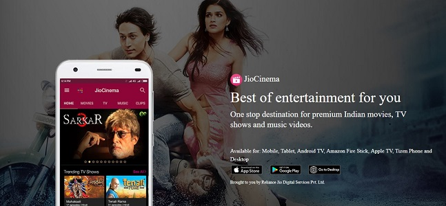 Watch JioCinema on PC/Laptop