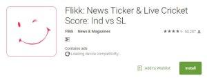 Flikkr Get Free Rs 10 Instant-on Sign up
