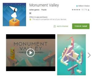 Monument Valley Puzzle Game Editor Choice [Offically Free Download]