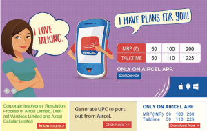How to Generate Aircel UPC VIA Official Website