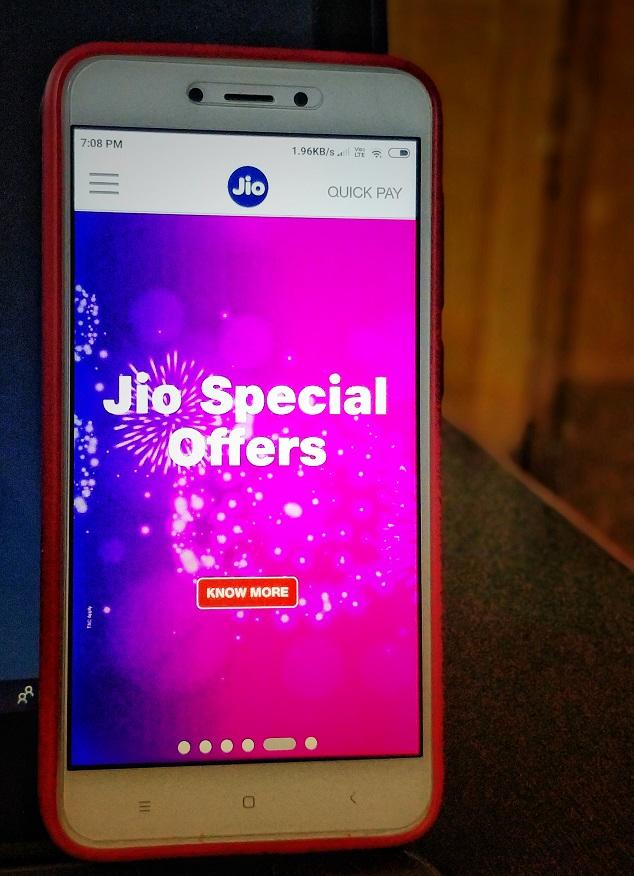 Reliance Jio Celebration Pack Get 8GB FREE Internet Data