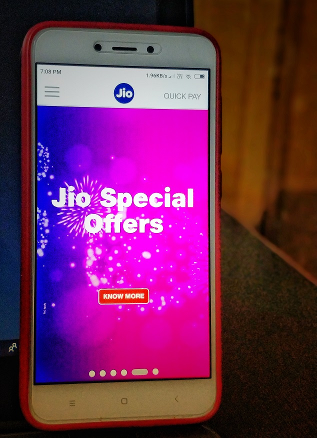 Reliance Jio Celebration Pack Get 8GB FREE Internet Data