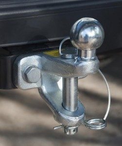 tow hitch on truck