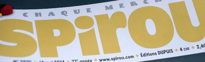 Alisik dans le magazine Spirou