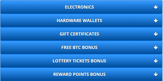 Reward Point Prizes