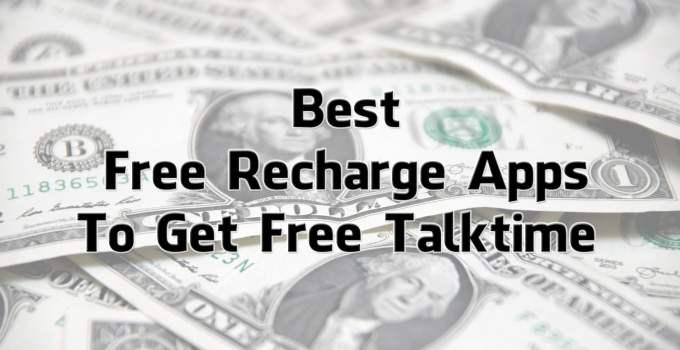 Best Free Recharge App