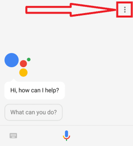 Google Assistant Pop-up