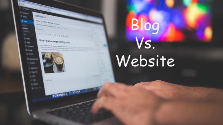 difference between blog and website, difference between a blog and a website, Blog Vs. website
