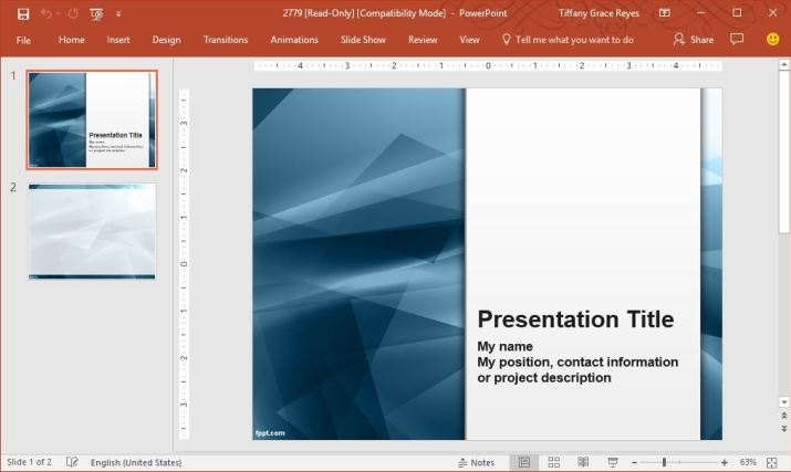 Create excellent presentations with free powerpoint templates after downloading the ppsx file of the template you can then just modify it right through powerpoint using its many formatting and design features toneelgroepblik Image collections