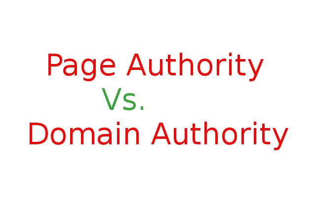 Domain Authority vs. Page Authority