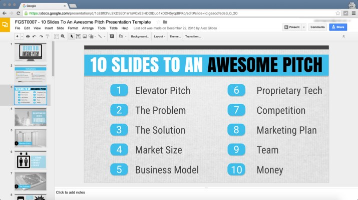 how to make appealing presentation with free google slides templates