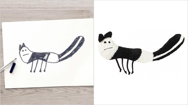 ikea skunk toy
