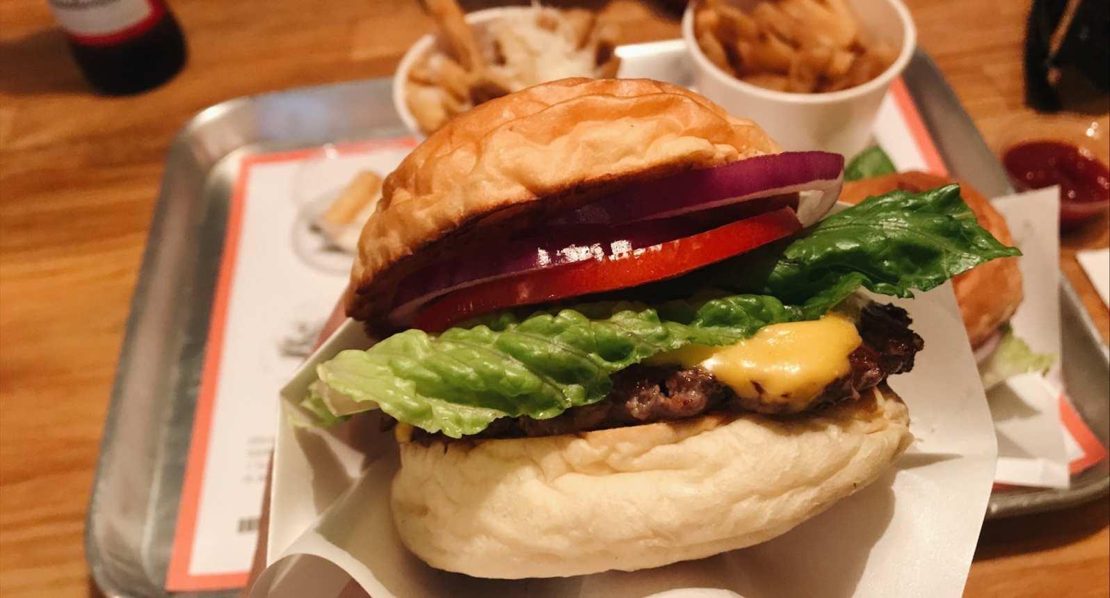 best burger taipei