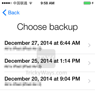 Transfer Data from old iPhone to new iPhone 6 or 6 Plus