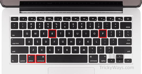 How to Reset PRAM or NVRAM Mac OS X