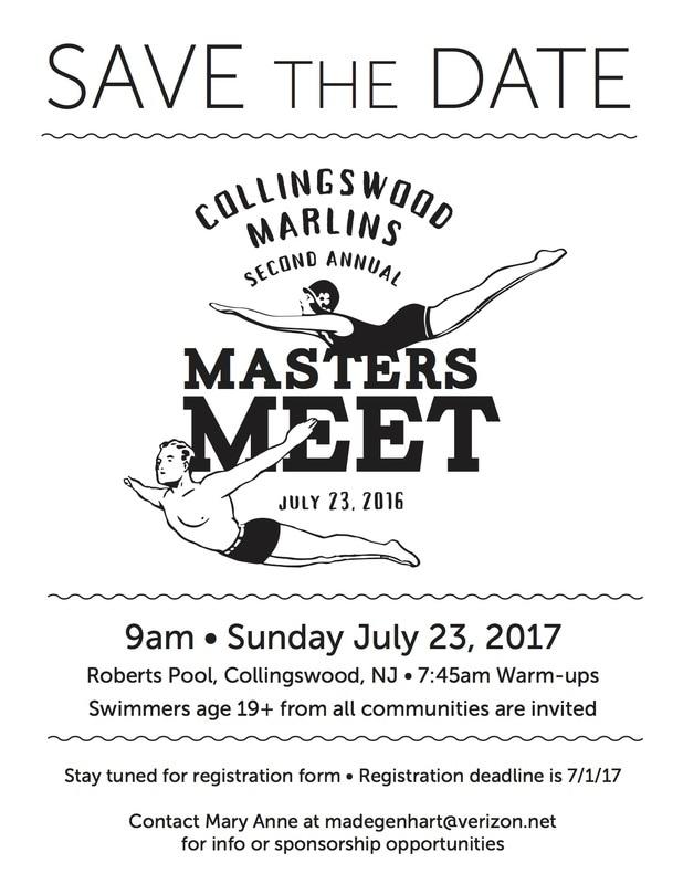2017 Collingswood Masters Meet
