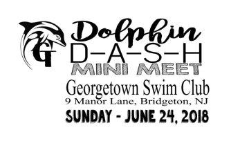 The Dolphin Dash Mini-Meet, June 24, 2018