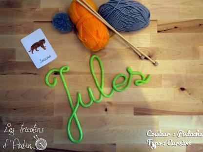 Jules en tricotin