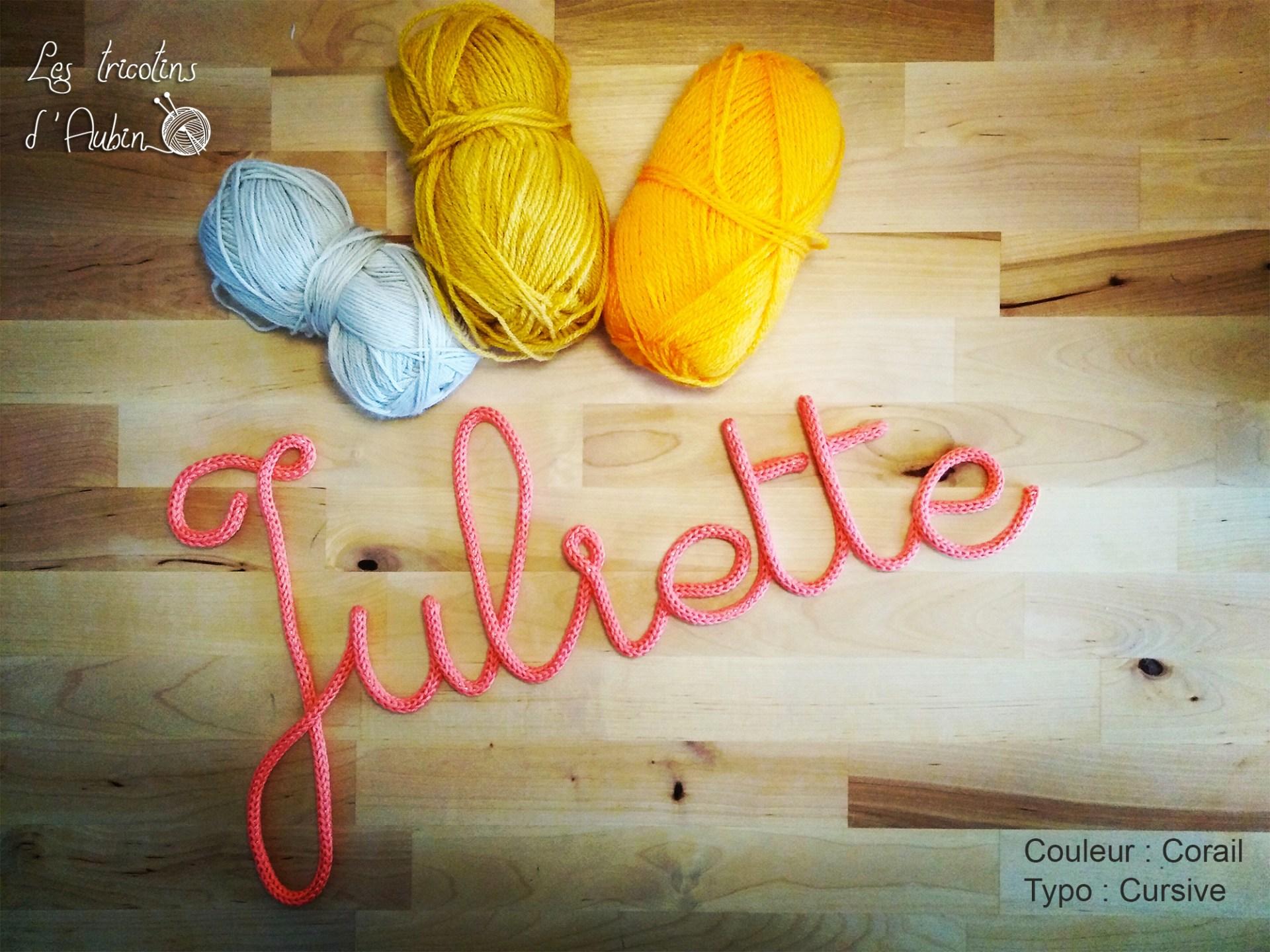Juliette tricotin