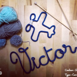Victor en tricotin