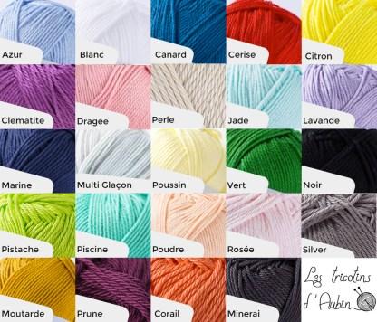 Nuancier tricotin
