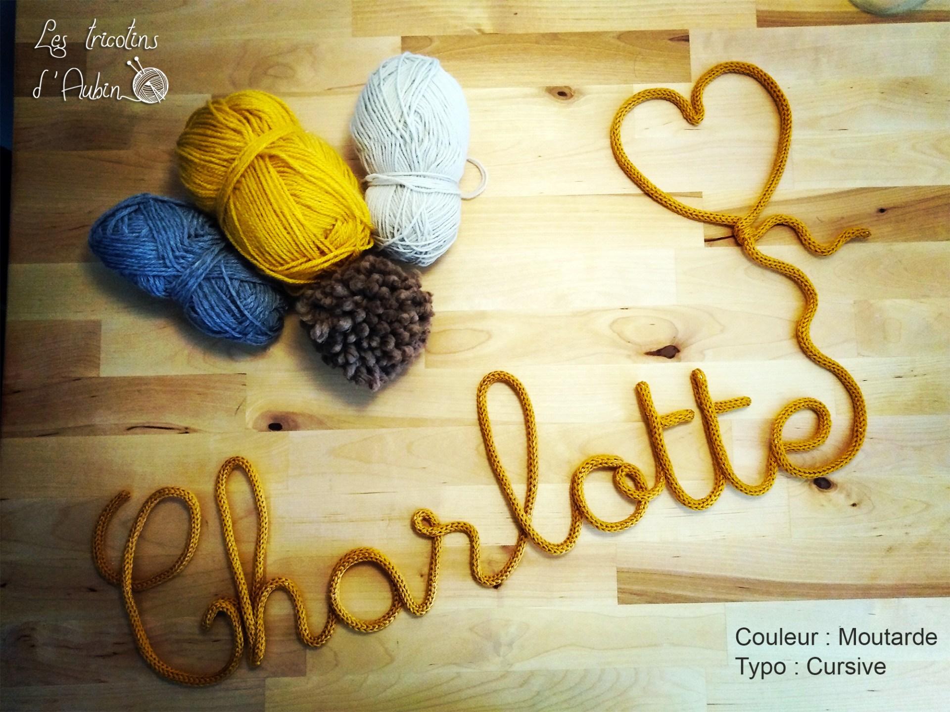 Charlotte tricotin