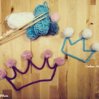 Couronnes en tricotin