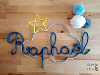Raphael nuage tricotin