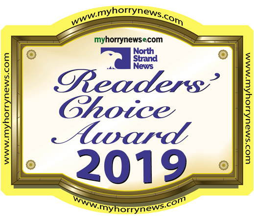 Voted Best Heating and Air Company by North Strand News Readers Choice Award 2019