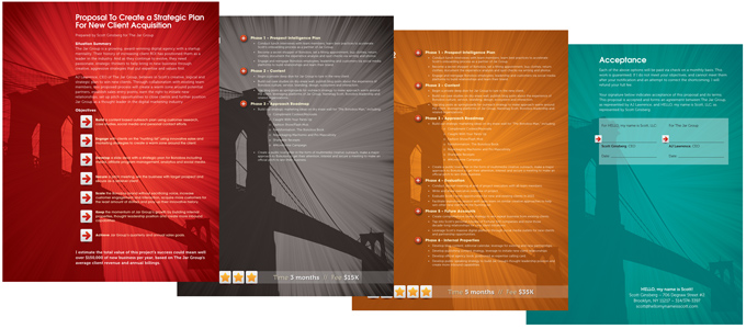 HelloMyNameIsScott Proposal TriFecta Creative Graphic