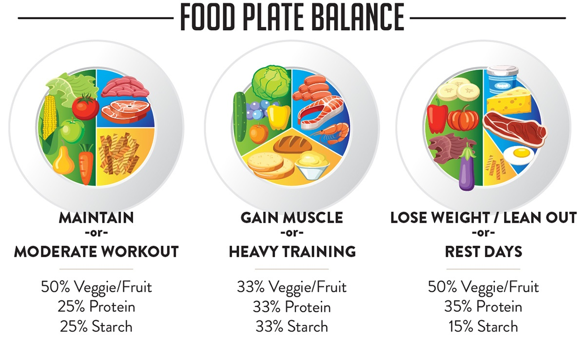 Macros trifecta also made easy how to portion like  badass rh trifectanutrition