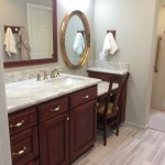 Memories and amenities make master bathroom dreams complete in Richmond