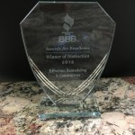 TriFection receives the 2018 Award for Excellence from the BBB