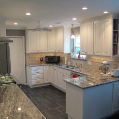Kitchen Upgrade Cream Color Cabinets Cookie That S Anything But Cutter Trifection