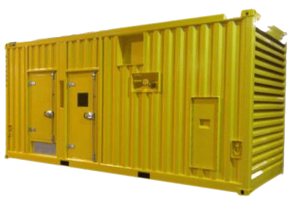 Custom Made Yellow Shipping Container with Doors