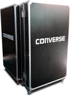 Bespoke Wardrobe Flight Case for Converse