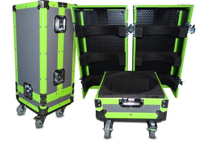 Custom Flight Case with Neon Extrusion