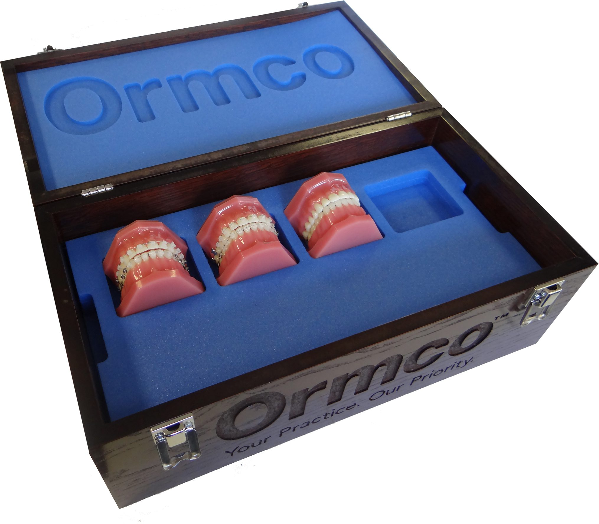 Wooden Presentation Box for Ormco