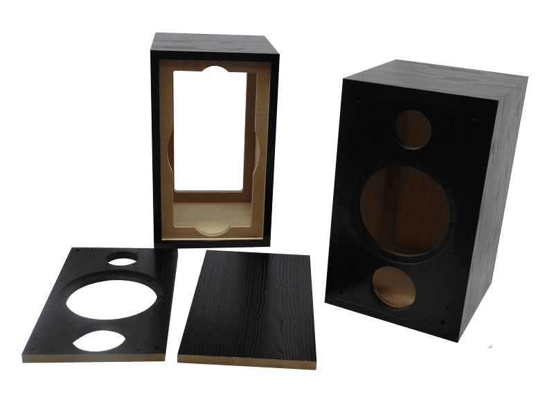 Bespoke Wooden Speaker Covers for Emiror Research Leicester (TPI)