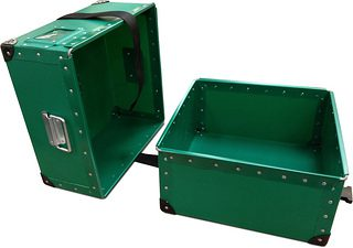Green Poly Boxes