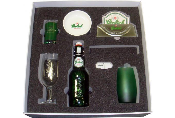 Bespoke Foam Insert for Promotional Packaging for Grolsch