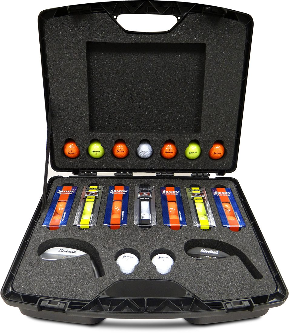 Bespoke Foam Interior for Golf Equipment Presentation Case